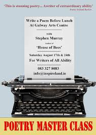 Poetry Masterclasses with Poet Stephen Murray