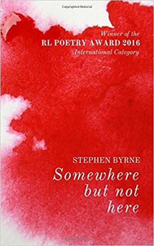 New Poetry Book Somewhere but not Here by Stephen Byrne Out Now