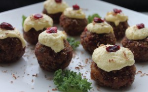 Boozy Mini Bitesize Alternative Christmas Puddings