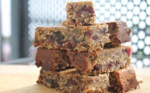 Spiced Oat, Chocolate, Fruit and Nut Bar